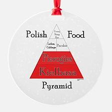 Polish Food Pyramid Ornament