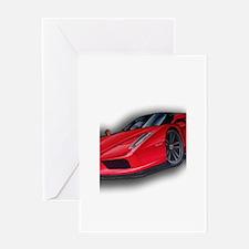 Ferrari Enzo by Kiril Lykov Greeting Card