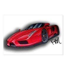Ferrari Enzo by Kiril Lykov Postcards (Package of