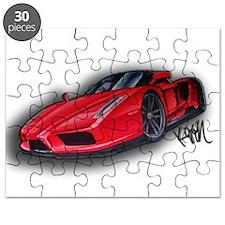 Ferrari Enzo by Kiril Lykov Puzzle