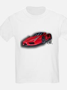 Ferrari Enzo by Kiril Lykov T-Shirt