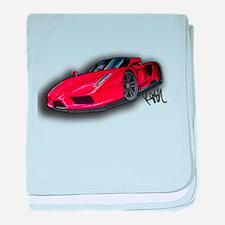 Ferrari Enzo by Kiril Lykov baby blanket