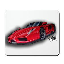 Ferrari Enzo by Kiril Lykov Mousepad