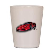 Ferrari Enzo by Kiril Lykov Shot Glass