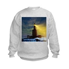 Pharos lighthouse of Alexandria, artwork - Sweatshirt