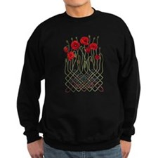 Celtic Poppies Jumper Sweater
