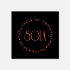 5 Solas Sticker