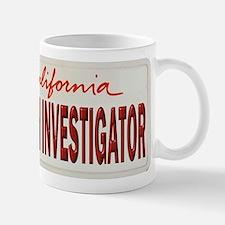 California Arson Investigator Mug