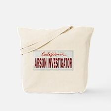 California Arson Investigator Tote Bag