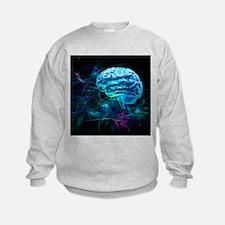 Brain research, conceptual artwork - Sweatshirt