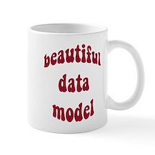 beautiful data model (red) Mug