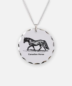 Canadian Horse Necklace