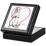 Heart in Paw Keepsake Box