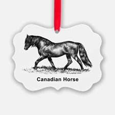 Canadian Horse Ornament