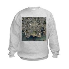 Plymouth, UK, aerial image - Sweatshirt