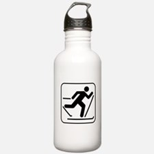 Cross Country Skiing Sports Water Bottle