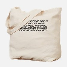 Cute Sex Tote Bag