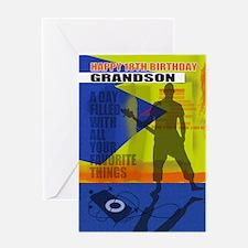18th Birthday Grandson Modern Design