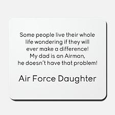 AF Daughter no problem Mousepad