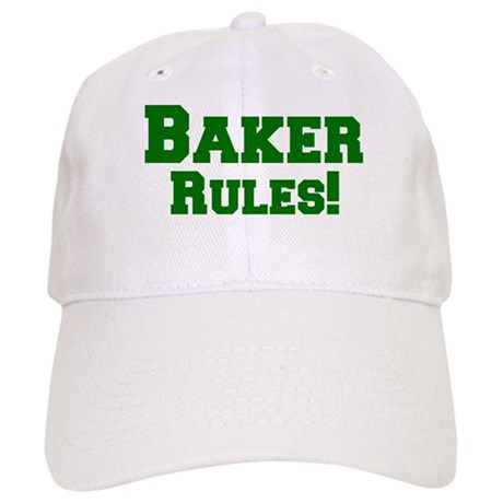 Baker Rules! Cap