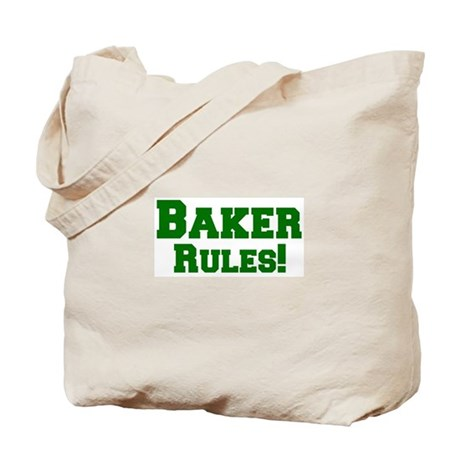 Baker Rules! Tote Bag