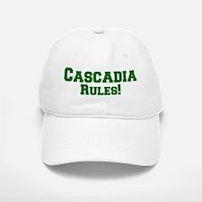 Cascadia Rules! Baseball Baseball Cap