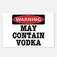 May Contain Vodka Postcards (Package of 8)