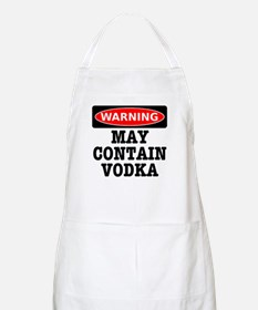 May Contain Vodka Apron