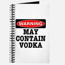 May Contain Vodka Journal