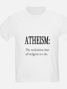 Atheism Shirt T-Shirt