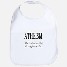 Atheism Shirt Bib