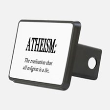 Atheism Shirt Hitch Cover