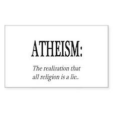 Atheism Shirt Decal