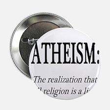 "Atheism Shirt 2.25"" Button"