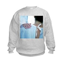 Doctor comforting a patient - Sweatshirt