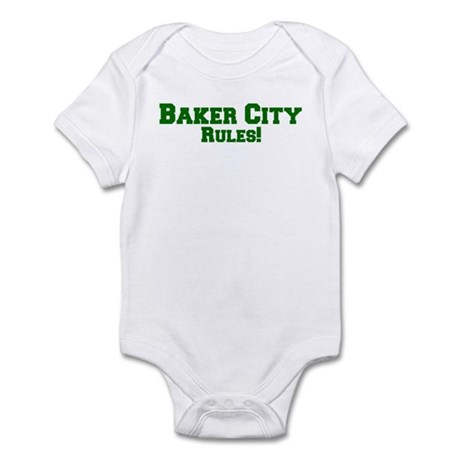 Baker City Rules! Infant Bodysuit