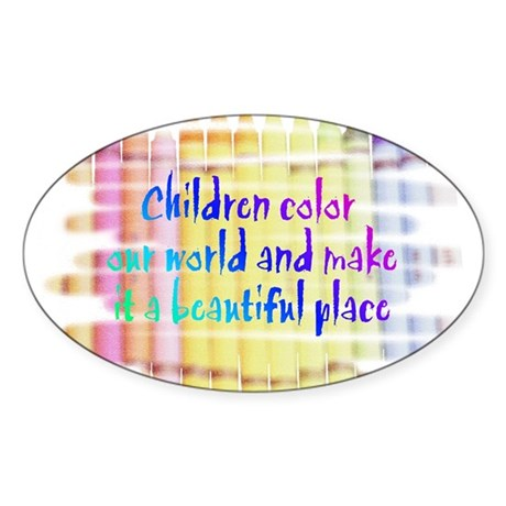 Click here:Children Color the Sticker (Rectangular