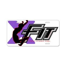 XFit Aluminum License Plate