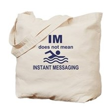 Instant Messaging Tote Bag