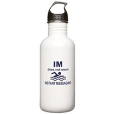 Instant Messaging Stainless Water Bottle 1.0L