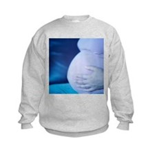 Pregnant woman's bump - Sweatshirt