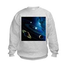 Artwork of the solar system - Sweatshirt