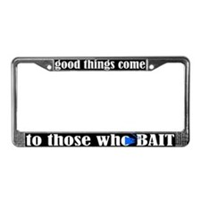 Cute The who License Plate Frame