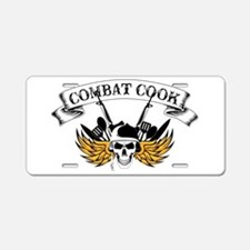 Combat Cook Aluminum License Plate