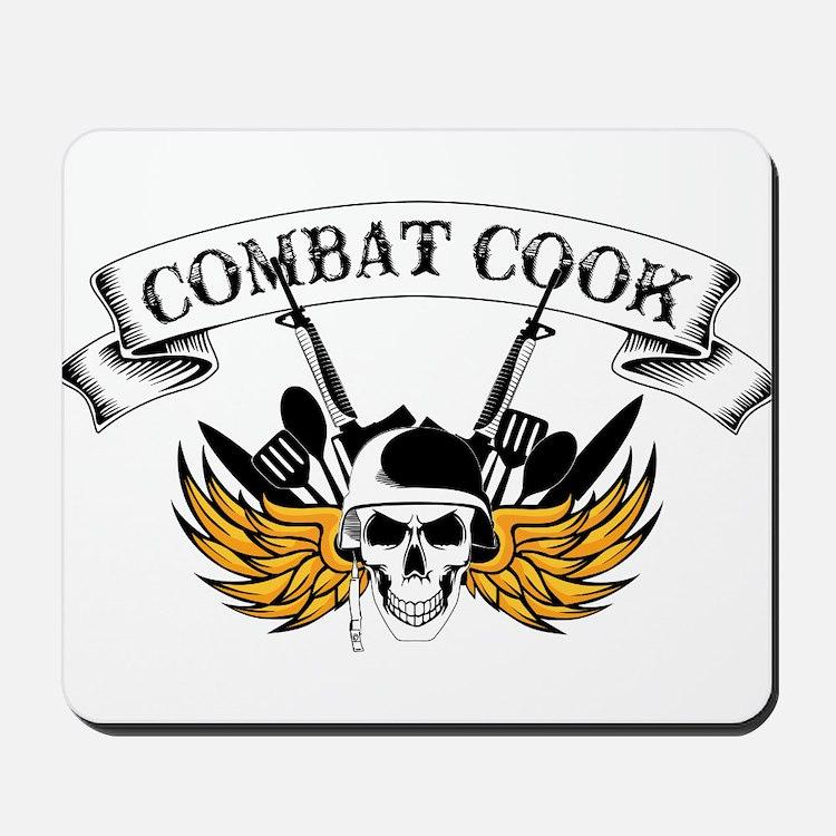 Combat Cook Mousepad
