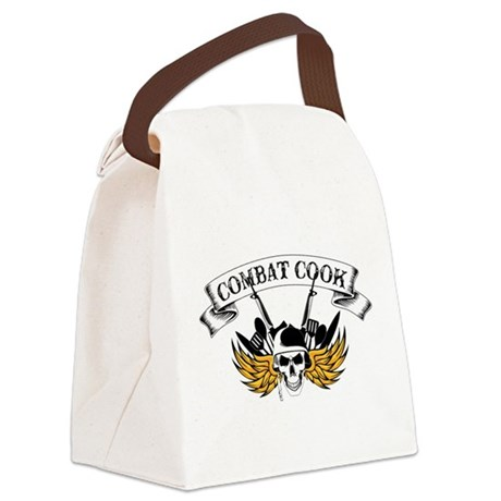 Combat Cook Canvas Lunch Bag