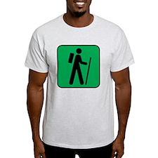Hiking Hiker Sports T-Shirt
