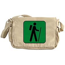 Hiking Hiker Sports Messenger Bag
