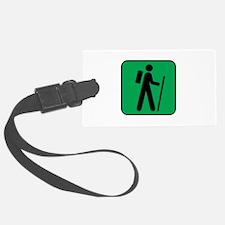 Hiking Hiker Sports Luggage Tag