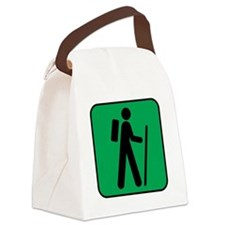 Hiking Hiker Sports Canvas Lunch Bag